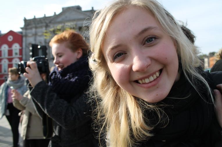 Iloinen, ihana Lina-Lotta. Kuva: Roosa Punkari.