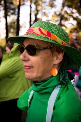 Aija Jorasmaa edusti Irlantia...